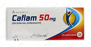 Caflam Tablets 50mg 2X10's