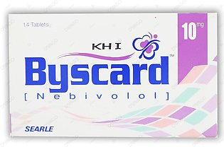 Byscard Tablets 10mg 14's