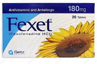 Fexet Tablets 180mg 20's