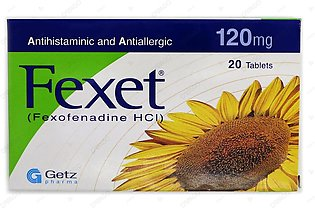 Fexet Tablets 120mg 20's