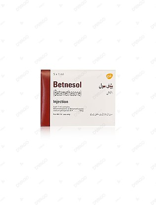 Betnesol Injection 5 Ampoules X 1ml
