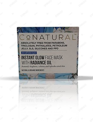 Co Natural Instant Glow Face Mask With Radiance Oil 50g