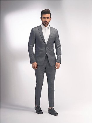 EMTSB20-8124 - 2 Piece Suit - Grey