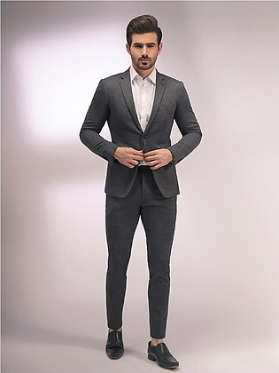 EMTSB20-8134 - 2 Piece Suit - Charcoal Grey