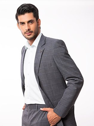 EMTSB19-8107 - 2 Piece Suit - Grey