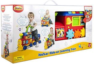 Winfun Walker Ride-On Learning Train