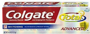 Colgate Tooth Paste Usa Total Advanced Whitening Gel 113g