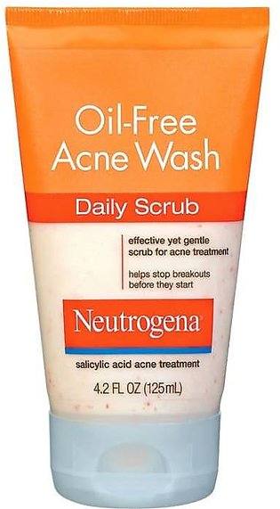 Neutrogena Acne Wash Oil Free Scrub
