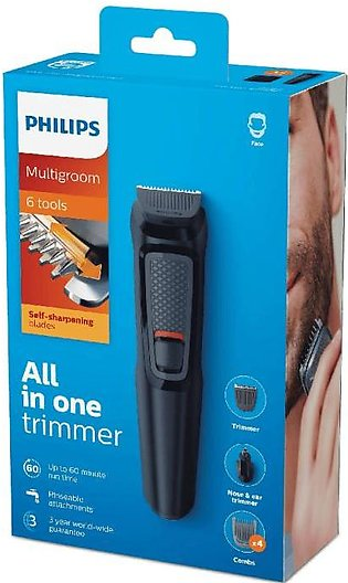 Philips Multigroom Series 3000 6 in 1 All in One Trimmer MG3710/15
