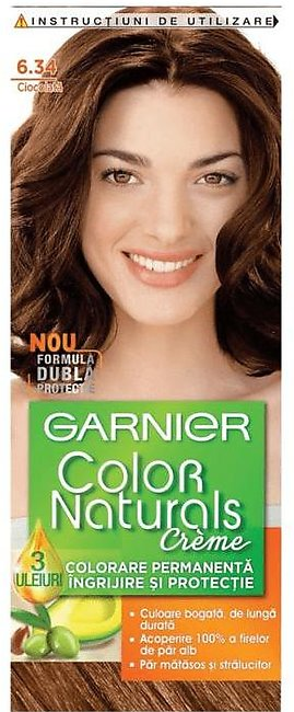 Garnier Hair Color Chocolate Nourishing Permanent Hair Color Cream Chocolate ...
