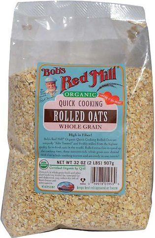 Bob's Red Mill Organic Quick Cooking Rolled Oats Oatmeal