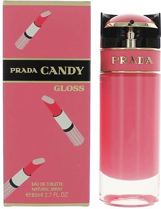 Prada Candy Gloss Eau De Toilette Spray for Women 80ml