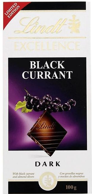 Lindt Excellence Black Currant Dark Chocolate