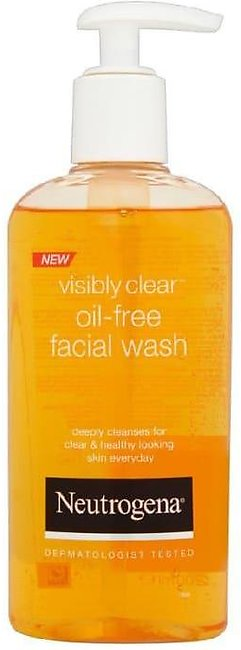 Neutrogena Clear & Protect Daily Oil Free Wash Cleanser