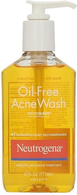 Neutrogena Oil Free Acne Wash Pump