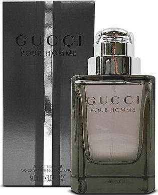 Gucci Pour Homme Eau De Toilette Spray for Men 90ml