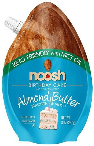Noosh Keto Almond Butter Birthday 227 Grams