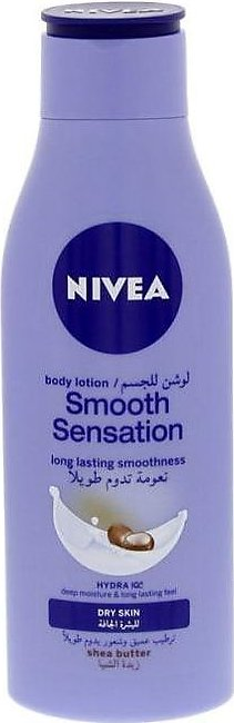 Nivea Body Lotion Smooth Sensation With Shea Butter Dry Skin