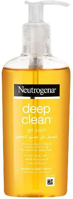 Neutrogena Deep Clean Gel Facial Wash
