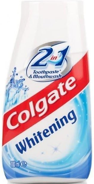 Colgate 2 in 1 Whitening Toothpaste 100ml