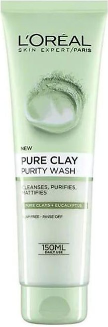 Loreal Pure Clay Face Wash Purity