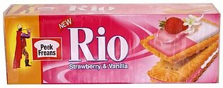 Peek Freans Rio Strawberry & Vanilla Biscuit