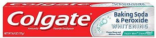 Colgate Tooth Paste Usa Whitening Frosty Mint Gel 170g