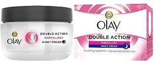 Olay Skin Care Night Cream Double Action