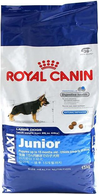 Royal Canin Dog Food Maxi Junior