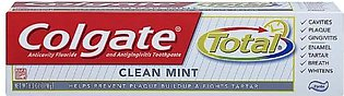 Colgate Tooth Paste Usa Total Clean Mint 170g