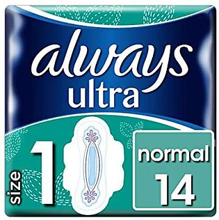 Always Ultra Pads Normal with Wings 14 Pads
