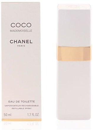 Chanel Coco Mademoiselle Eau De Toilette Refillable Spray for Women 50ml