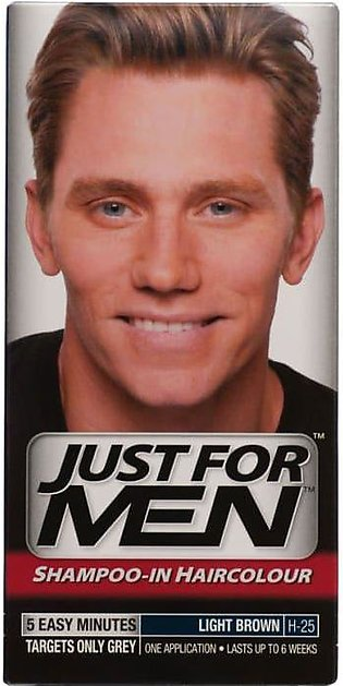 Just For Men Natural Light Brown Hair Color