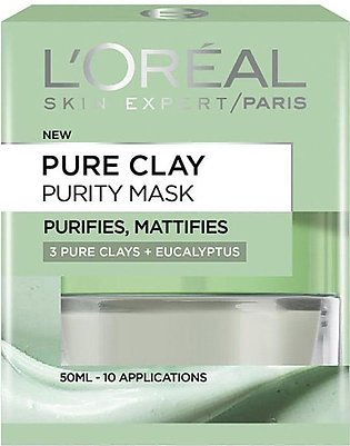 Loreal Pure Clay Purity Face Mask