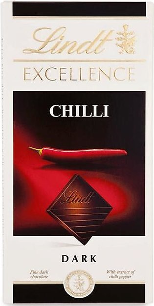 Lindt Excellence Chilli Dark Chocolate Bar