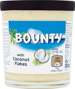 Bounty Spread with Coconut Flakes 200 Grams