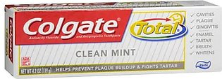 Colgate Tooth Paste Usa Total Clean Mint 119g