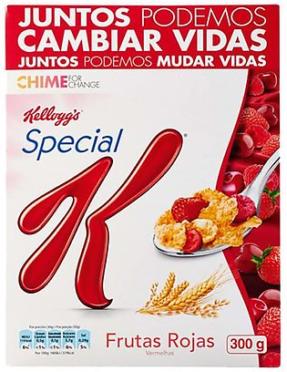Kelloggs Special K Cereal Red Fruits