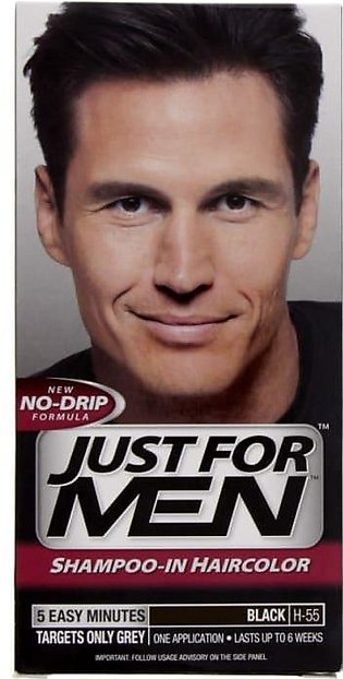 Just For Men Hair Color Natural Real Black