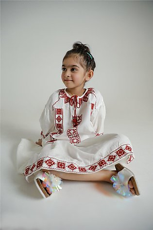 EMBROIDERED SUIT (GTF203047)