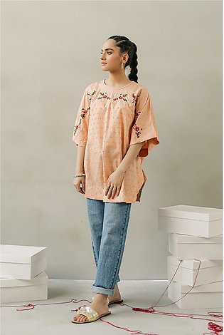 EMBROIDERED TOP (WTF111568)