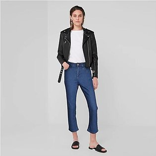 Plus Collection Women's Fashionable Straight Fit Denim