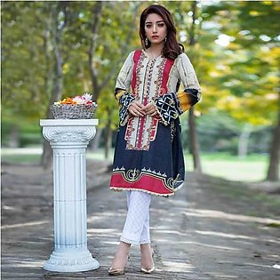 Nain Sukh By Indicoat ID 007 Women's Hurghada Unstitched 2 Pcs Lawn Suit