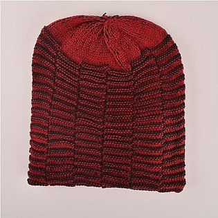 MB Snug Style Winter Knitted Beanie Cap