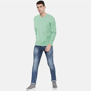 Polo Republica Men's Sorong Nobitu V-Neck Sweat Shirt