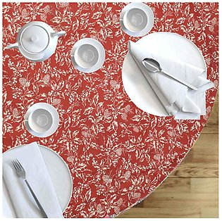 MKS Bown Red 8-12B20 Linen Closet Table Cloth