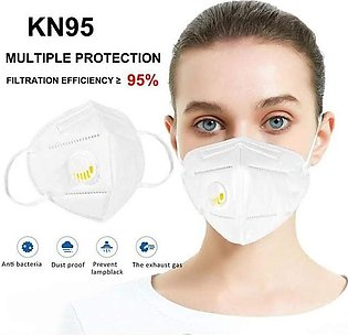 Unisex 5 Ply Anti Viral Protective Filtration KN95 Mask