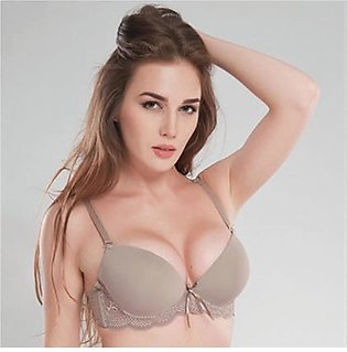 Women Underwire Memory Foam Solid 3/4 Soft Bra Charming Sexy Bras
