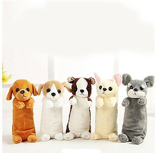 Cute Puppy Stationery Pouch Bag