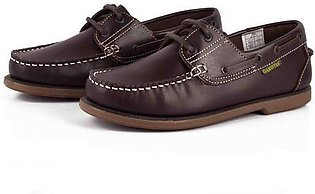 Dakotas Men's Genuine Leather Classy Boat Shoes